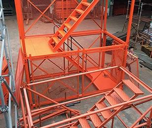 箱式组合梯笼